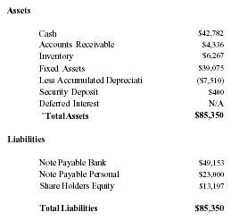opening day balance sheet template .