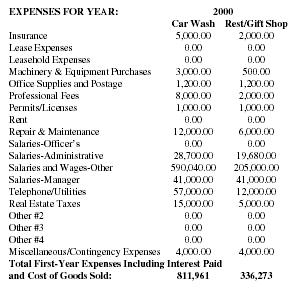Specialty Car Wash Business Plan Executive Summary