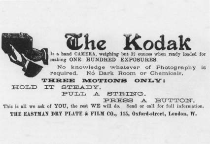 Eastman Kodak Company - From Dry Plates to Roll Film
