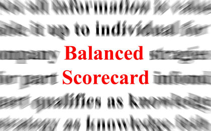 Balanced Scorecard - strategy, organization, levels, system
