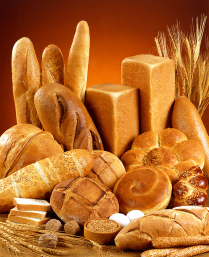 Units fabrication dietary bread and bakery products