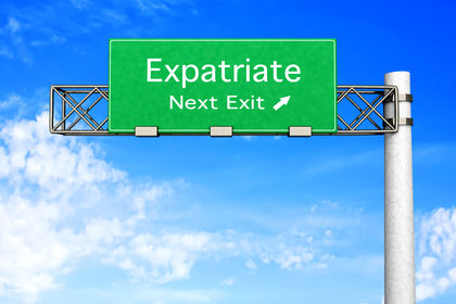 definition of expat