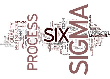 Statistical Process Control And Six Sigma 524